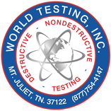 World Testing Decal